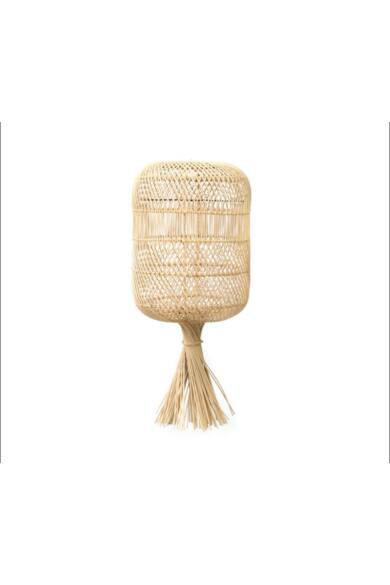 rattan-lampa-ananas-kicsi
