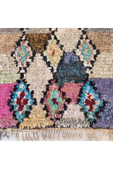 Boucherouite szőnyeg -Hafida