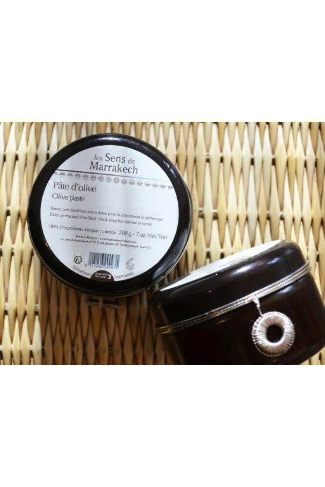 Fekete szappan natúr (olajbogyó paszta)