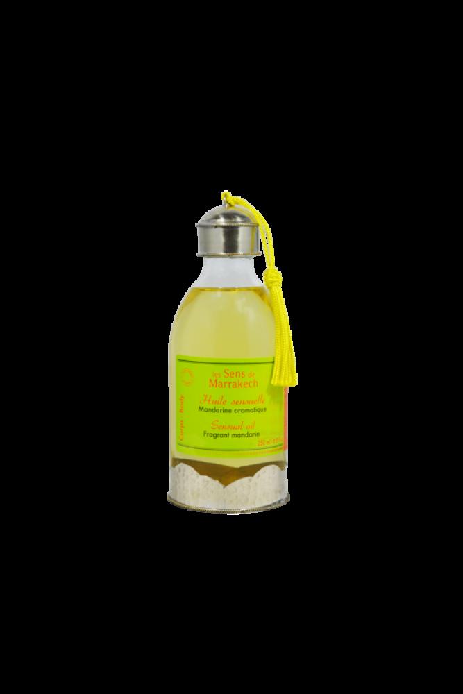Érzéki testápoló olaj - Mandarin