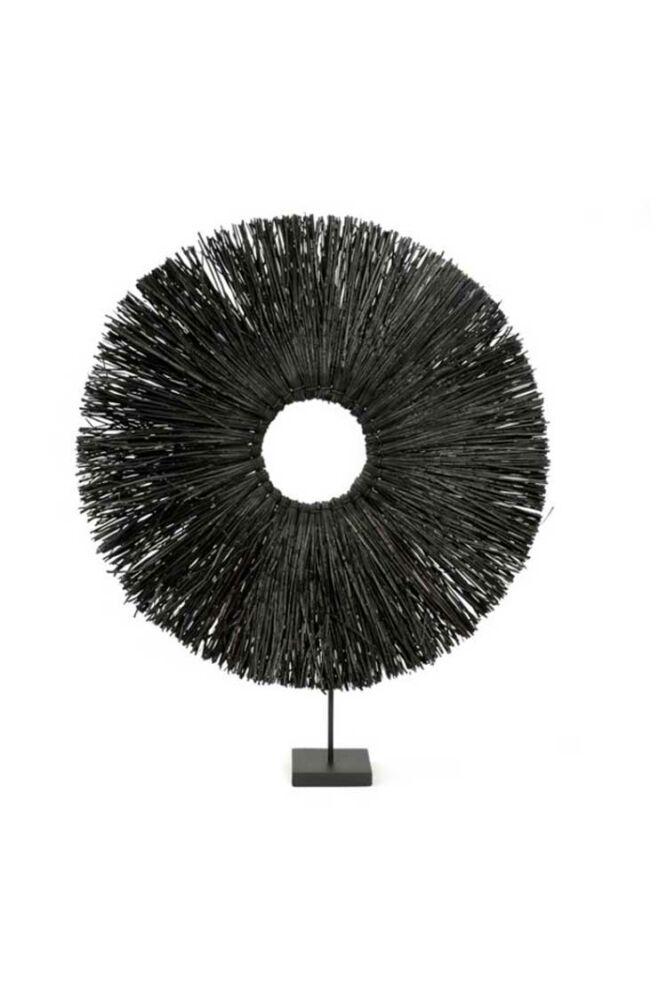Qash- fekete asztali dekor