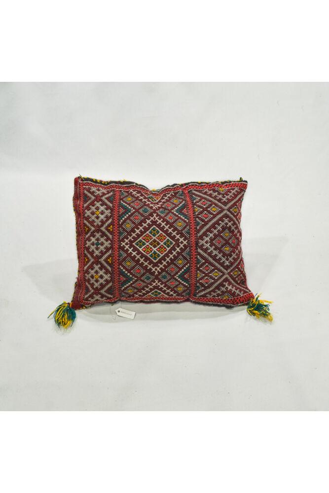 Marokkói kilim vintage díszpárna