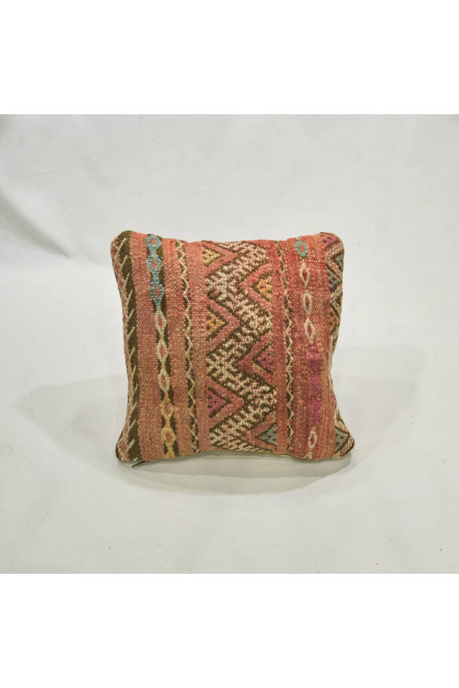 Berber kilim pink párna