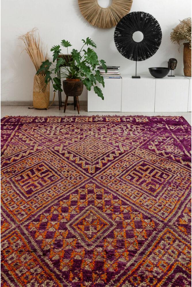 Berber vintage szőnyeg -Hanane
