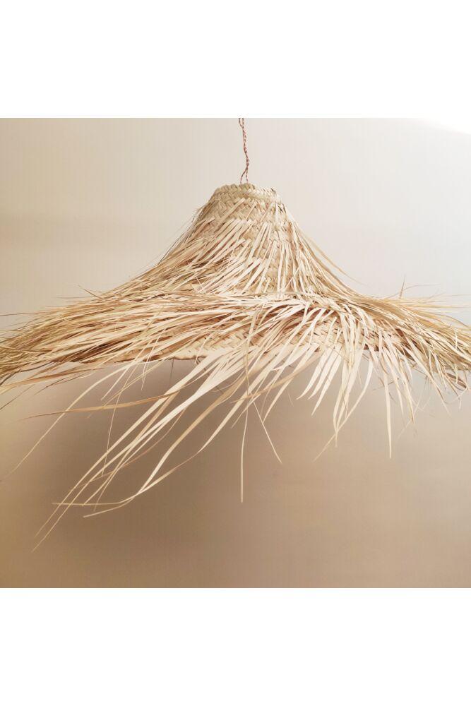 marokkói-raffia-lámpa