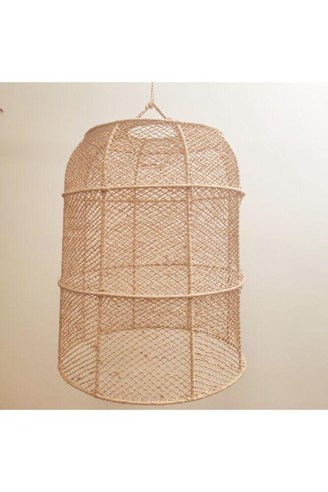 raffia-lampa