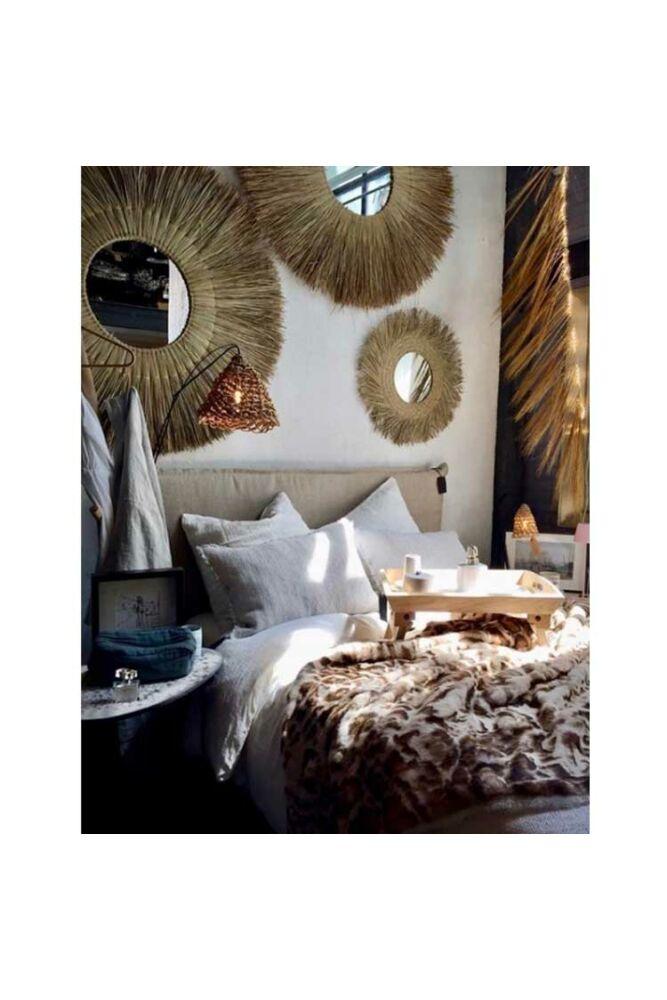 Raffia Bamboo tükör